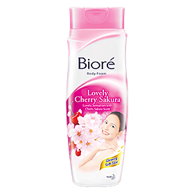 Biore Body Wash Lovely Cherry Sakura