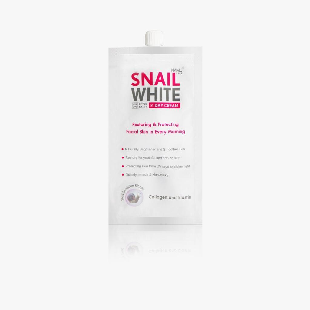 Snailwhite NAMU LIFE SNAILWHITE Day Cream Sachet 7ml
