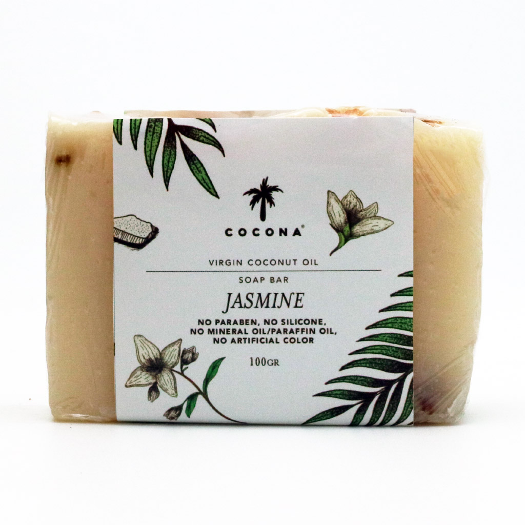 Cocona Care Natural Soap Bar Jasmine