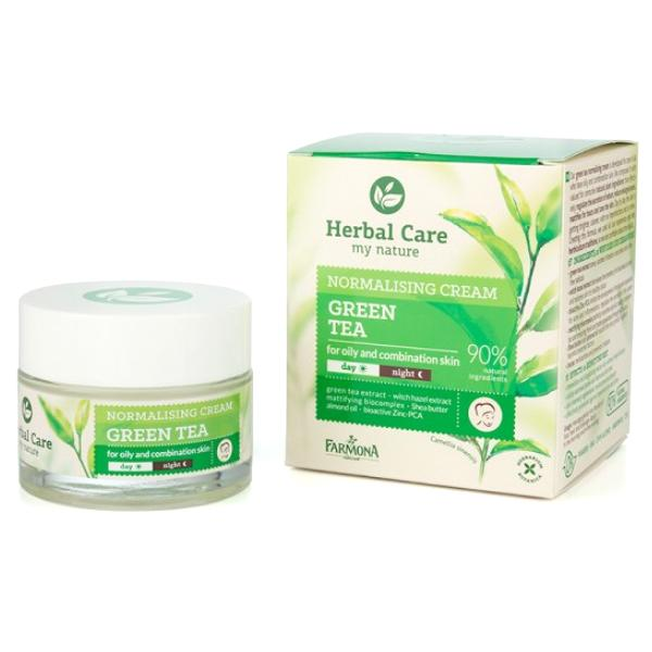 Herbal Care My Nature Normalising Cream Green Tea for Oily and Combination Skin