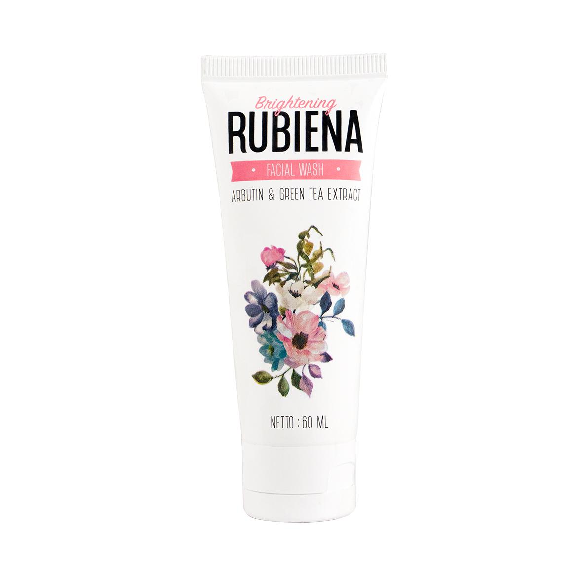 Rubiena Brightening Facial Wash