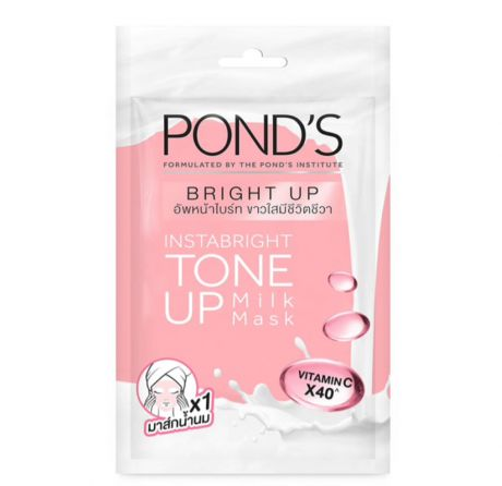 Pond's Instabright Tone Up Milk Mask with Vitamin C